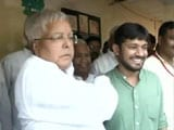 Video: On His Homecoming Visit, Kanhaiya Kumar Meets Lalu Prasad