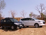 Video: Toyota Innova Crysta vs Renault Lodgy: Comparison Review