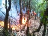 Video: उत्तराखंड : हेलीकॉप्टर से आग बुझाने की कोशिशें जारी, सैंकड़ों जवान जुटे