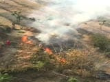 Video: Watch: Aerial View Of Raging Uttarakhand Forest Fires