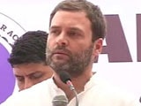 Video: Go Ahead, Target Away, Says Rahul Gandhi To BJP On Agusta Chopper Scam