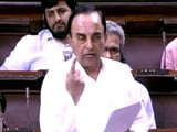 Video: Uproar In Rajya Sabha After Subramanian Swamy's 'Super PM' Remark