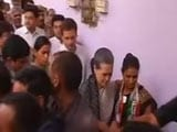 Video: Gandhis' Brief Stop At Police Station After Defying Orders For March