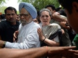 Video : At Protest March, Sonia Gandhi, Manmohan Singh's Brief Detention
