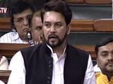 Video : Explain Secret Dubai Meet With Agusta Middleman, Says Anurag Thakur
