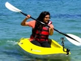 Ambika Anand Enjoys Tubing and Kayaking in Italy