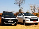 Video : CNB Bazaar Buzz: Newly Launched Toyota Innova Crysta Goes Head to Head Against Renault Lodgy