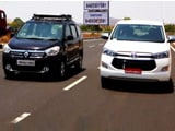 Video : Mercedes-Benz C250 CDI, Toyota Innova Crysta vs Renault Lodgy
