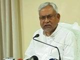 Video: Will Ask For CBI Probe, Says Nitish Kumar On Journalists Killing