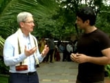 Video: Apple's Tim Cook Talks About Indian People, Market Potential, and More