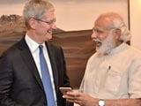 Video: PM Modi Meets Apple Chief Tim Cook, Launch Updated 'Modi App'