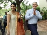 Apple CEO Tours India