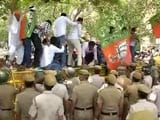 Video : BJP Protests Outside CPM Office Against Kerala Party Worker's Killing