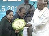 Video : Jayalalithaa Takes Sixth Oath As Chief Minister, Starts Term No 4