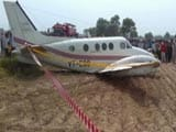 Video : Air Ambulance Crash-Lands Near Delhi Airport After Losing Both Engines