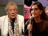 Video : A Compliment For Sonam Kapoor From Ian McKellen