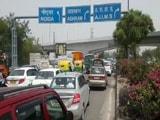 Video : जाम-जाम दिल्ली, मेट्रो क्रेन के टेढ़ा होने से बनी ऐसी स्थिति
