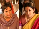 Video : 'Bharat Mata Ki Jai' Doesn't Make Me Saffron Demon: Smriti Irani To NDTV
