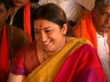 Video: Unlike Gandhis, BJP Doesn't Expect Bonds Of Servitude: Smriti Irani To NDTV