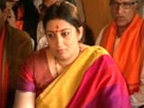 Video: 'Don't Judge Me By Editorials': Smriti Irani Recalls PM Modi's Advise