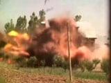 Video: Explosion During Gunbattle Between Terrorists, Army in Kashmir's Baramulla