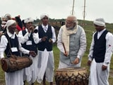 Video: In Shillong, PM Modi Visits Mawphlang Sacred Forests, Plays Drum