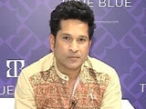 Video: Spent 24 Yrs Wearing Blue, My Fashion Brand Also Has Blue: Sachin