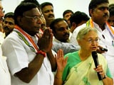 Video : V Narayanasamy To Be Chief Minister Of Congress Government In Puducherry