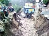 Video: भारी बारिश से टिहरी, उत्तरकाशी में जमीन धंसी