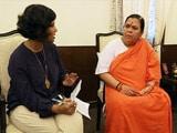 Video: मैं यूपी के सीएम पद की दौड़ में नहीं हूं : एनडीटीवी से उमा भारती