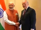 Video : Done. PM Modi Gets Swiss 'Yes' For India In NSG (Nuclear Suppliers Group)