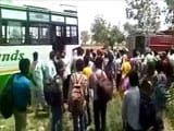 Video : Blast On Private Haryana Bus, 4th Of Its Kind This Year For The State