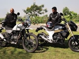 Video : Royal Enfield Himalayan vs Mahindra Mojo: Comparison Review Video