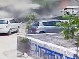 Caught On Camera: Moment When MiG-27 Crashed In Jodhpur