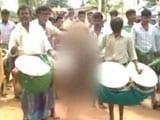 Video : Boy Paraded Naked During Ritual For Rain In Drought-Hit Karnataka Village