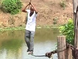 Video: Two Ropes - The River-Crossing For A Village In Maharashtra