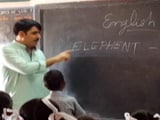 Video: Gujarat Minister, An MBA, Misspells Elephant, Says It Was Intentional