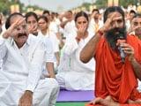 Video : Ramdev Leads, Over 30,000 Yoga Mats Roll In Delhi Again