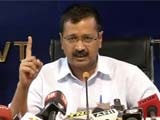 Video : 'Mr Modi, I Am Not Rahul, Sonia Gandhi Or Vadra': Kejriwal Attacks PM