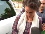 Video : Got It, Says Priyanka Gandhi Vadra About Notice To Husband Robert's Firm