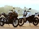 Video: Bajaj Pulsar RS200 vs TVS Apache RTR 200 4V