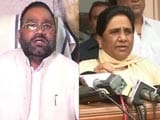 Video: Mayawati Is 'Scared', Says Swami Prasad Maurya After Her 'Traitor' Remark