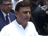 Video: Calling Off Party Merger, Akhilesh Yadav Shows Who's The Boss