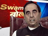 Video: Subramanian Swamy's 'Bol' Has An Opinion On Everything