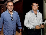 Video : Head Coach Selection Row: Was Sourav Ganguly Behind Ravi Shastri Snub?