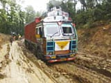 Video : Stuck In Slush, Drivers At Assam-Tripura Border May Now Get Some Relief