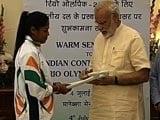 Video: Prime Minister Narendra Modi Meets Rio Olympics-Bound Athletes