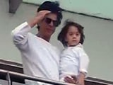 Video : Eid Mubarak. Love, Shah Rukh and AbRam Khan