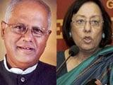 Video: Najma Heptulla And GM Siddeshwara Resign As Union Ministers
