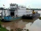 Video : हल्दिया से वाराणसी पहुंचे जलपोत को कछुओं ने रोका!